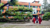 স্কুল খুলেছে তবু প্রাঙ্গণে উপড়ে পড়ে আছে রেইনট্রি