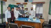 কানাইঘাটে উপজেলায় কৃষি অফিসার হিসাবে মো:এমদাদুল হক এর যোগদান
